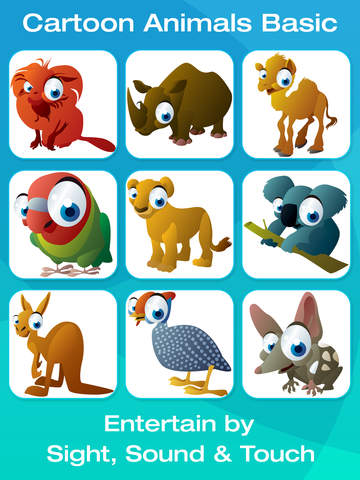 Safari and Jungle Animals for Babies: Touch HD Images & Listen Sounds of Animal with Best Flashcards Game and Top Fun for Kids screenshot