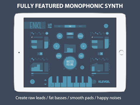 Enkl - monophonic synthesizer