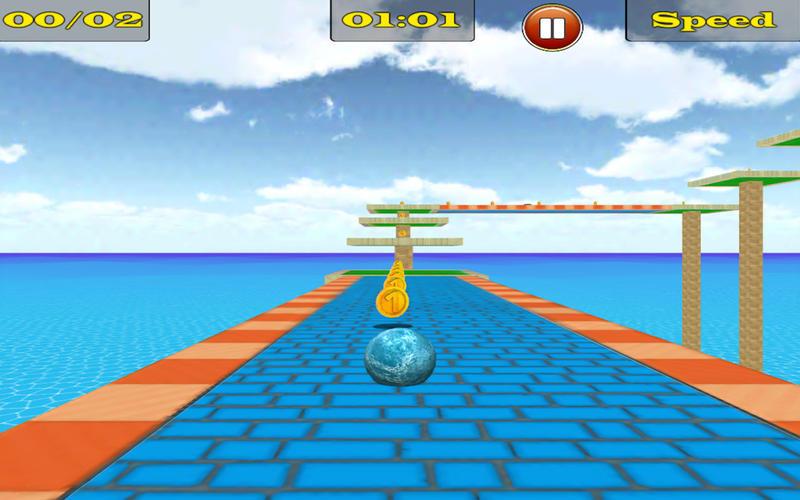 Bouncing Ball 3D Free Screenshot - 4