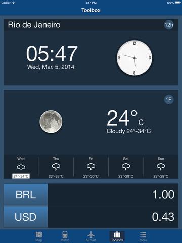 Rio De Janeiro Offline Map - City Metro Airport Screenshots