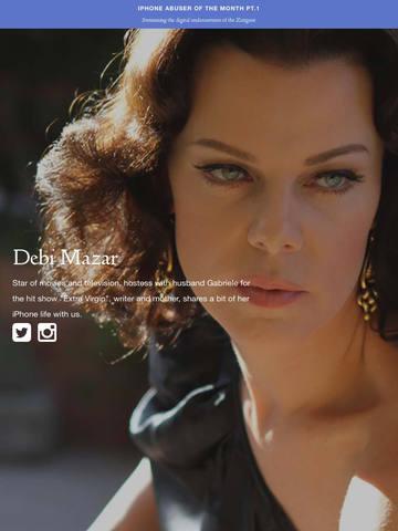 iPad Image of iPhotographer Magazine