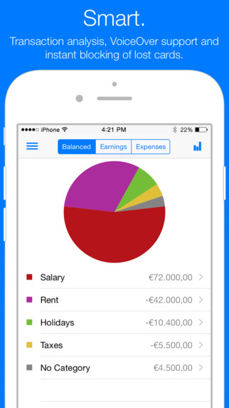 OutBank - Secure Online Banking of your Finances: Accounts Credit Cards Bank Transfer