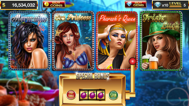 Slots: Mermaid's Underwater Adventure Slots Free
