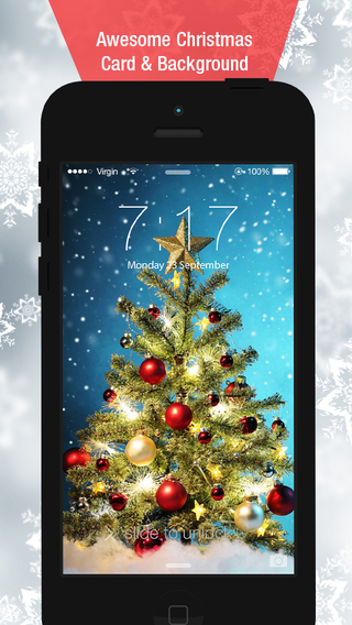 Awesome Christmas Cards - Backgrounds and Lock Screens