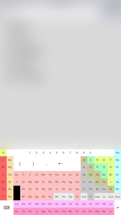 CMM | Calculateur de Masse Molaire iPhone Screenshot 3