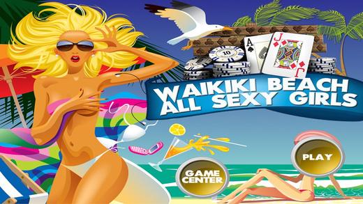 Waikiki Beach All Sexy Girls
