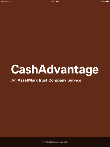 Cash Advantage for iPad