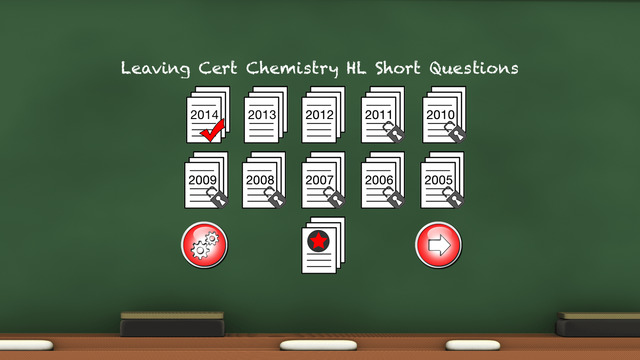 Leaving Cert Chemistry HL Section B Flash Cards