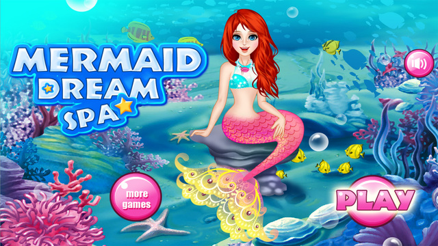 Mermaid Dream Spa - Games for girls
