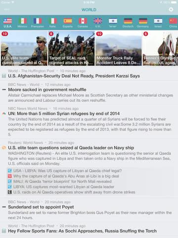 NewsFlash ~ Breaking News & World Headlines screenshot