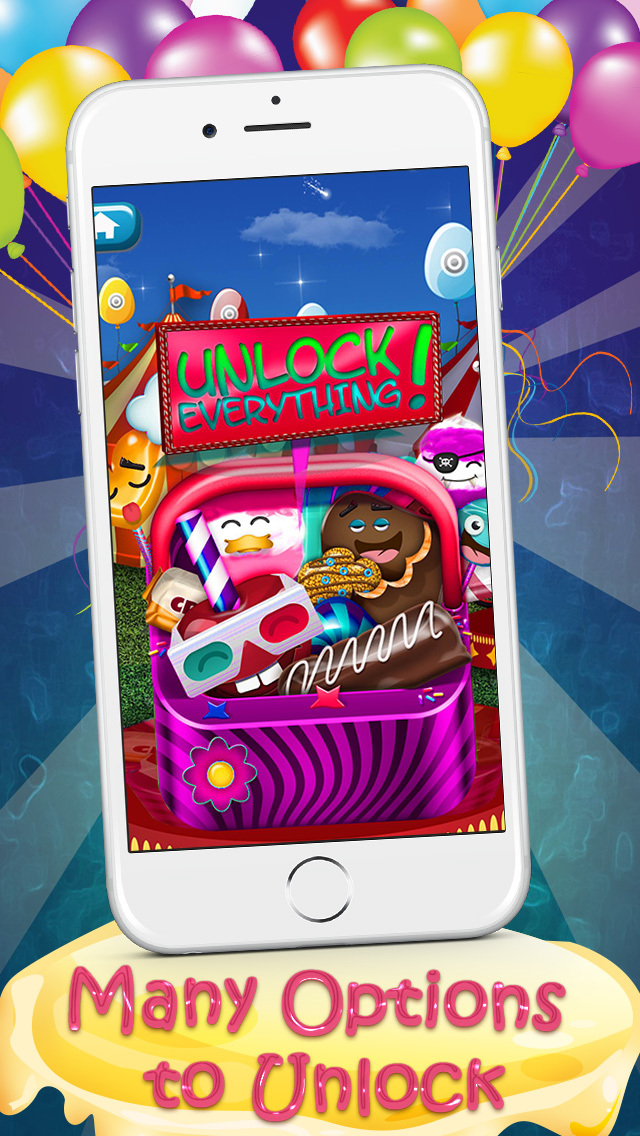 A Delicious Candy-Box Sweets Maker : Tasty Carnival Fair Treats Factory FREE