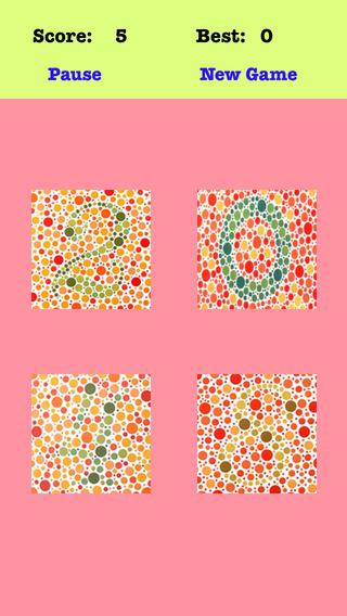 Color Blind 2048