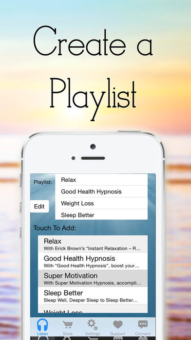 Stop Smoking with Self Hypnosis by Erick Brown iPhone Screenshot 2