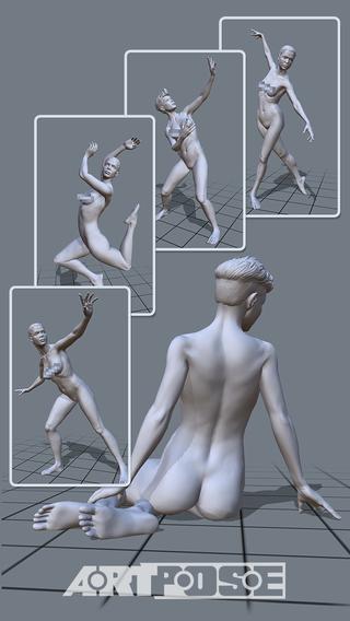 ArtPose Female Edition