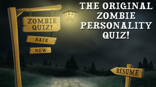 ZQ - The Zombie Personality Quiz