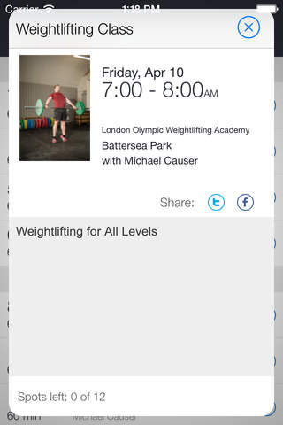London Weightlifting Academy screenshot 2