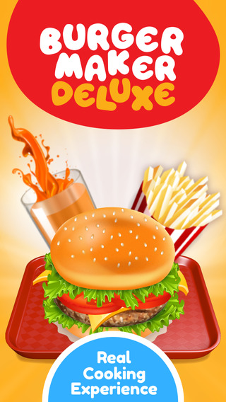 Burger Maker Deluxe - Cooking game Ads Free