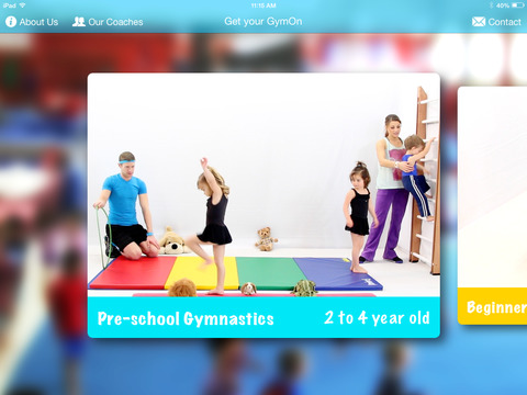 GymOn - Gymnastics and Dance Flexibility and Strength Fun and Healthy Exercises for Kids