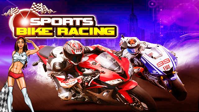 A Aarons Sports Bike Race - Speedway Motorcycle Racing Rally Crash by Biker Gang