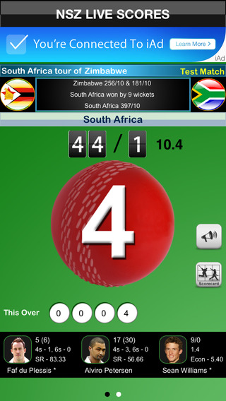 NSZ Cricket Scores