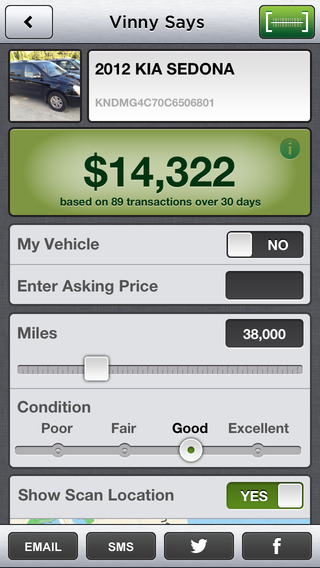 Vinny - Discover Wholesale Price by Scanning Used Car