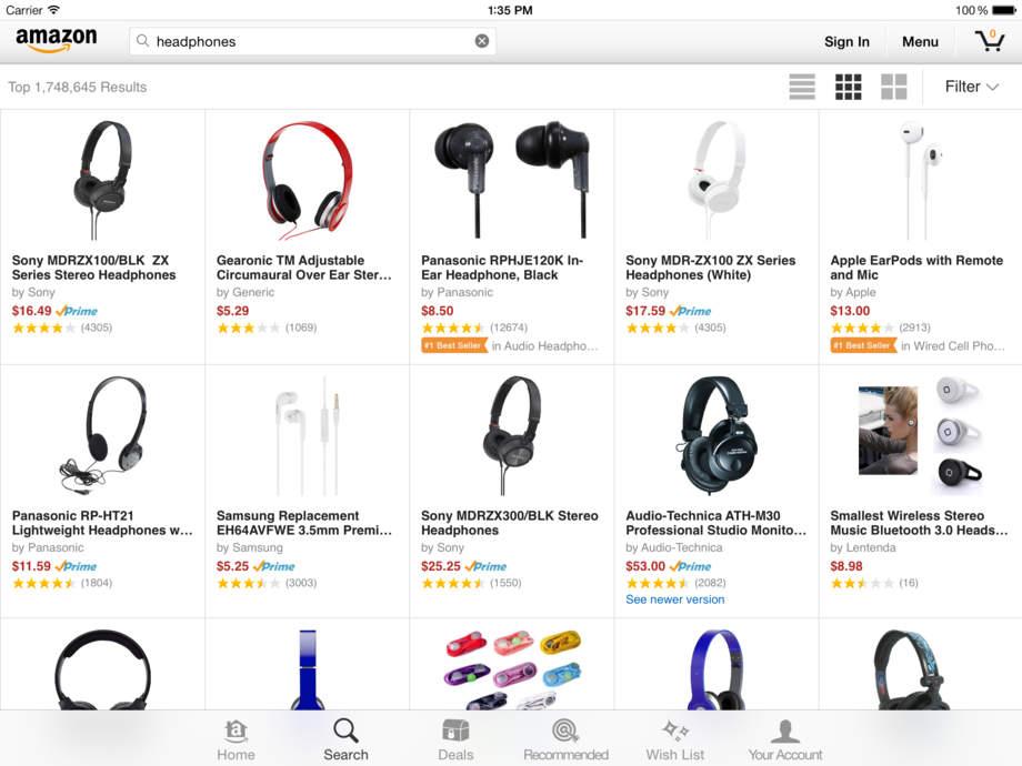Amazon App - iPhone Mobile Analytics and App Store Data