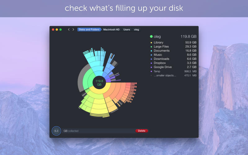 DaisyDisk 磁盘空间分析整理软件[Mac] ¥30丨反斗软件值得买