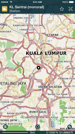 Pocket Kuala Lumpur Offline Map Travel Guide