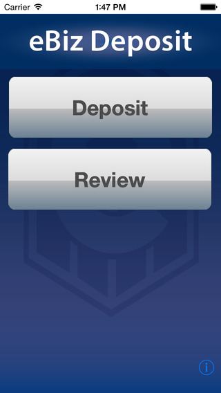 Lubbock National Bank - Mobile Deposit iPhone Screenshot 2