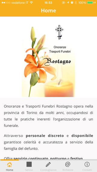 Onoranze e Trasporti Funebri Rostagno