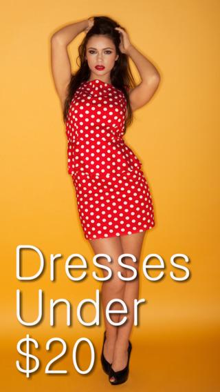 Dresses Under $20 App by Wonderiffic®