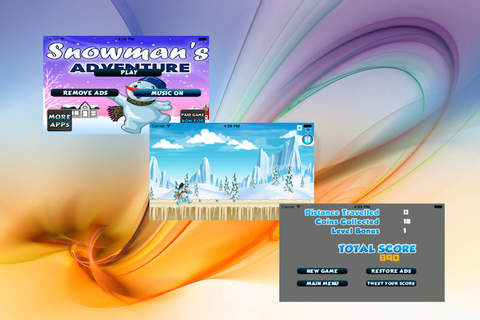 Snowman's Adventure - The Snow Runner screenshot 3