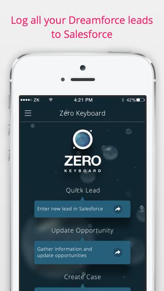 Zero Keyboard for Salesforce
