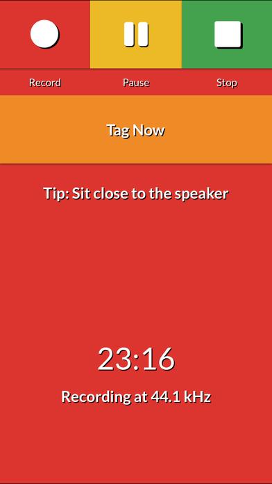 Audio Class Notes Free iPhone Screenshot 2