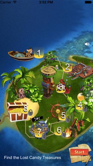 Candy Treasure Pirate Rescue