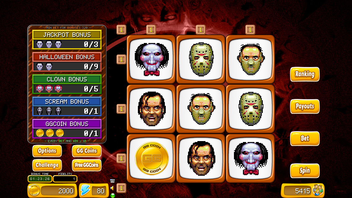 Creepy Cuddlers Slots - Free to Play Online Casino Game