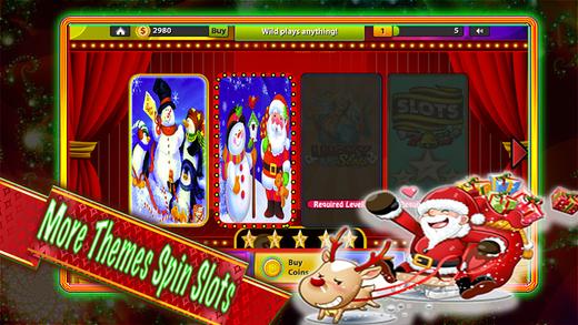 Amazing Casino Slots-Happy Merry Christmas Day-Free Sloto