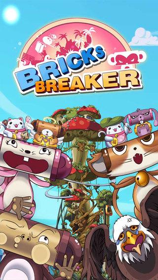 Bricks Breaker - Friends