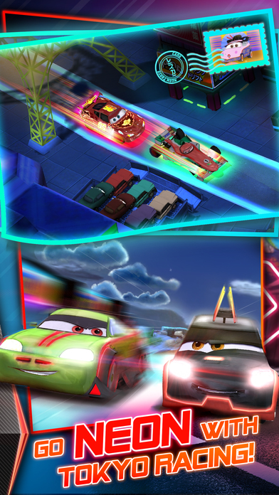 Screenshots of Cars: Fast as Lightning for iPhone