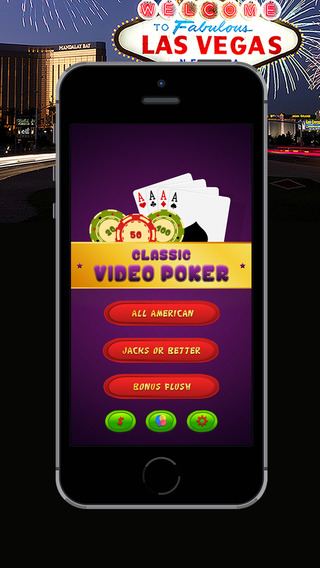 Classic Video Poker - Enjoy The Poker From the Comfort of Home..