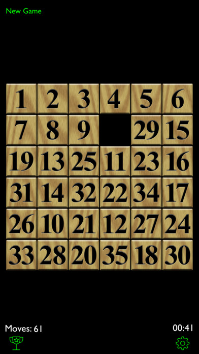 PuzzleTiles Free - a classic 15 tile puzzle game iPhone Screenshot 2