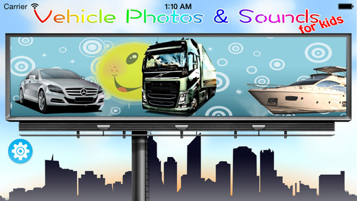 Vehicle Photos Sounds for Kids Free