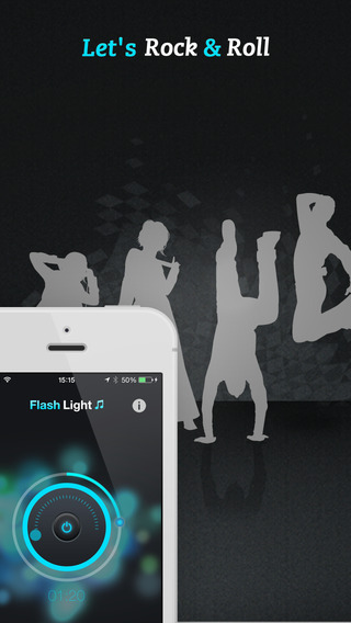 Flashlight ♫ iPhone Screenshot 3