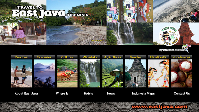 Travel to East Java Indonesia