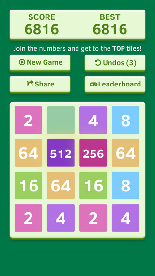 Number Tiles Challenge - free impossible smash hit and snappy 2048 game edition