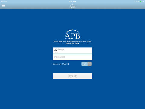 AltaPacific Mobile for iPad