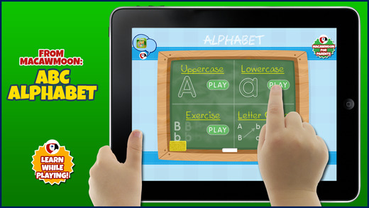 ABC Alphabet Write Letters - tracing game for kids learning - Macaw Moon