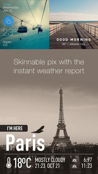InstaWeather Pro - 天气预报[iOS]丨反斗限免