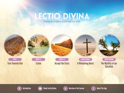 Lectio Divina Lent for iPad