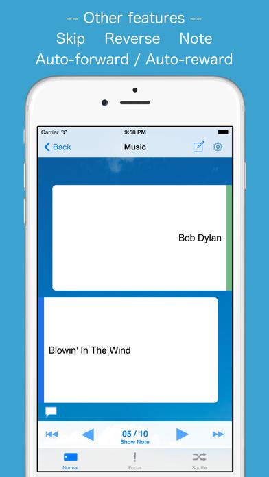 FlashcardBox iPhone Screenshot 4